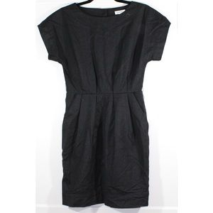 Generra black dress with buttons down the back